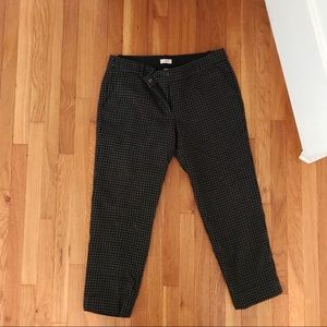 J. Crew Checkered Trousers